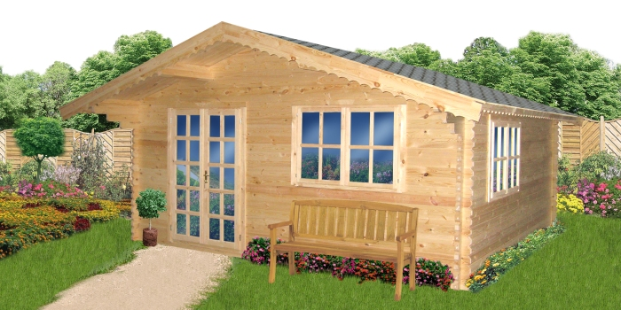 Buy Wooden Cabins Wood Garden Sheds And Garages Wood